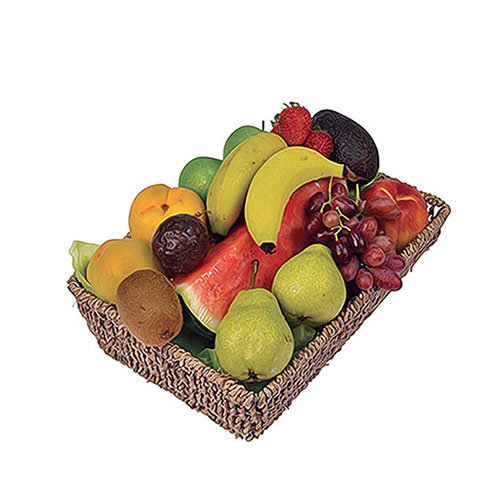Basket of seasonal fruit